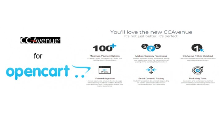 OpenCart - Opencart CCavenue Payment Gateway