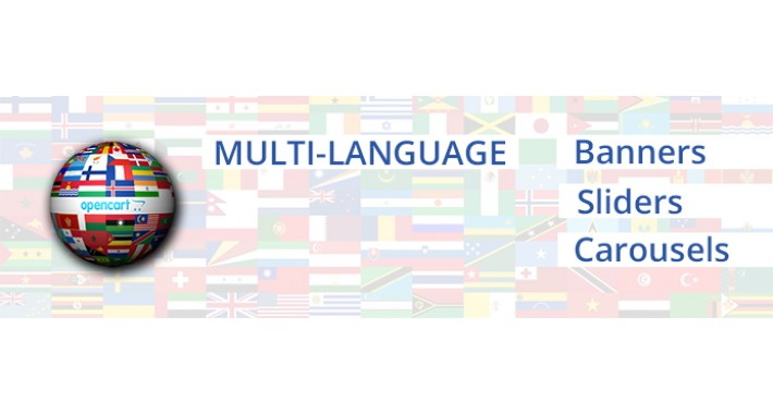 Multi-Language Banners, Sliders and Carousels