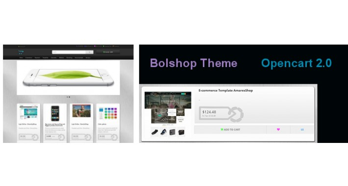 Bolshop Dark Theme