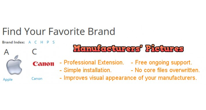 Manufacturers Pictures 2.x