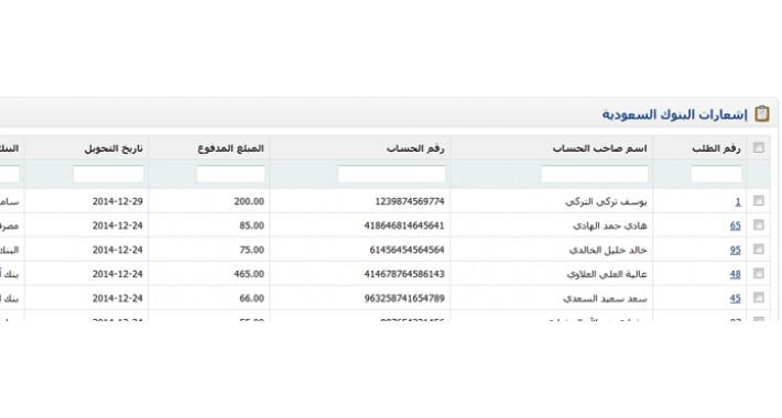 إشعارات البنوك السعودية - Payment Notification For Saudi Banks