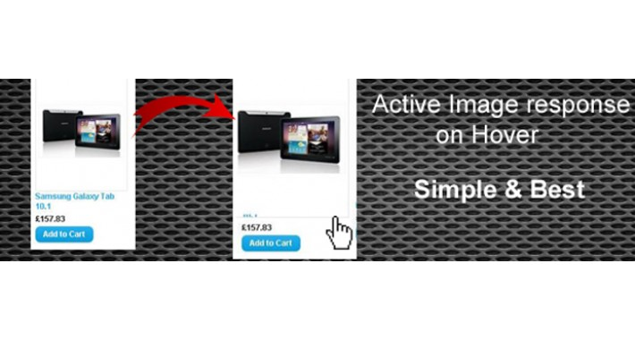 Product Thumbnail Image wake on Hover