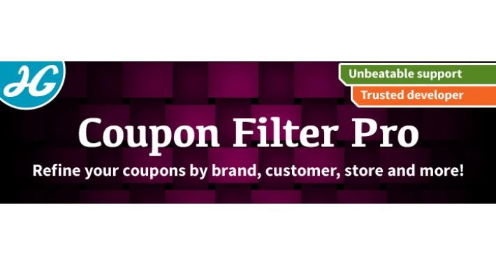 [VQMOD] Coupon Filters Pro 2.X