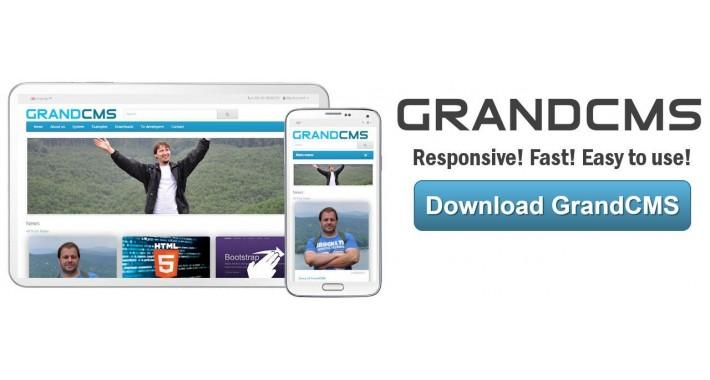 GrandCMS (bugfixed) by GrandCMS.com