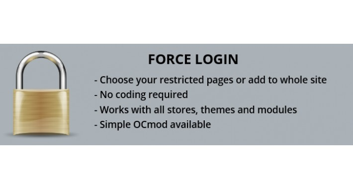 Restricted Access - Compulsory Login