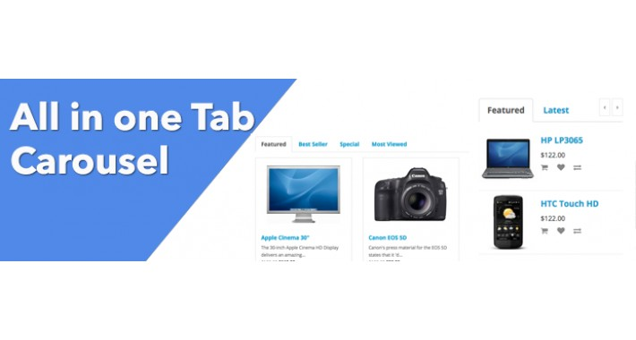 All In One Tab - Products Carousel