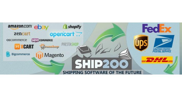 Ship200 FREE Multi Carrier Shipping Software - OneByOne Plugin