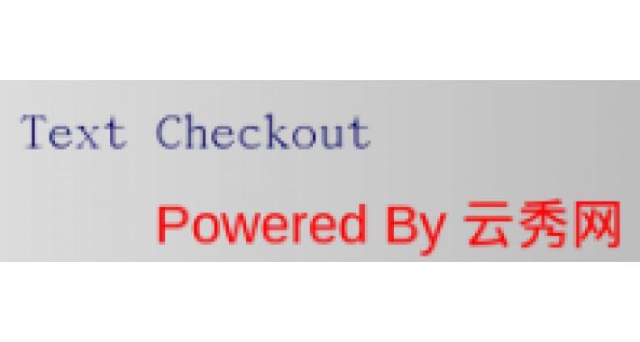 Text Checkout