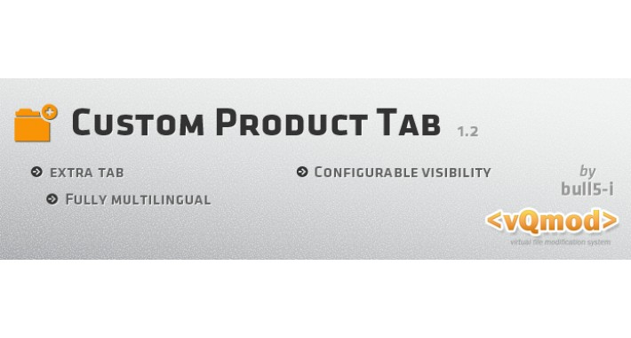 Extra Product Tab