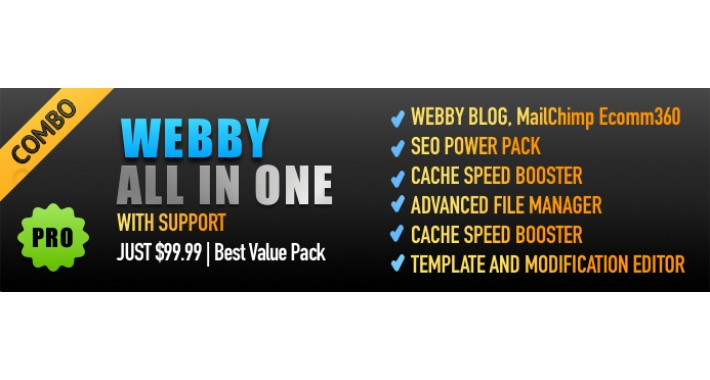 OpenCart - Webby All In One Mega Offer Pack (Year End Offer)