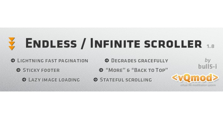 Product Endless Scroller / Infinite Scrolling
