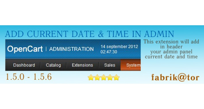 Add current date and time in admin