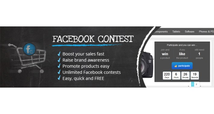 Free facebook contest software