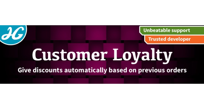 Customer loyalty discount 1.5.X