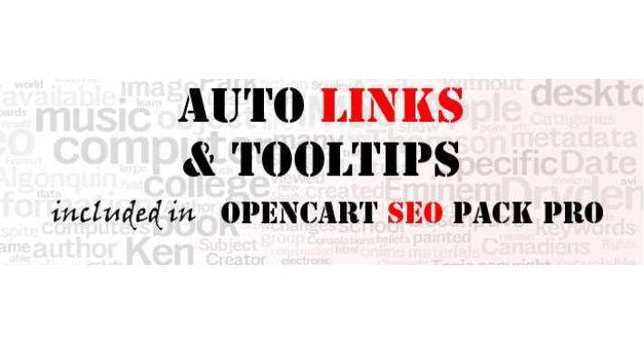 [NEW] Auto Links & Tooltips (from Opencart SEO Pack PRO)