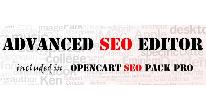 Advanced SEO Editor (from Opencart SEO Pack PRO)