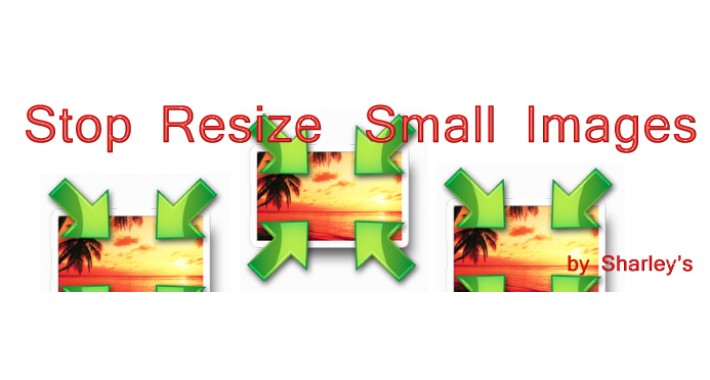 (VQMod) Stop Resize Small Images