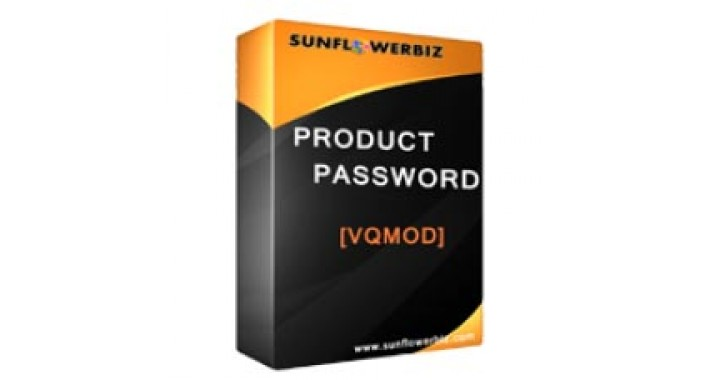 Set Password For Each Product[VQMOD/OCMOD]