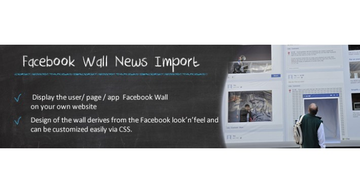 Facebook Wall News Import