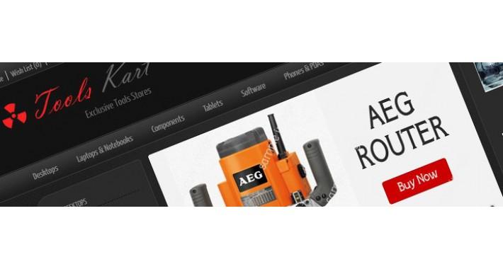 Tools Kart Opencart Template