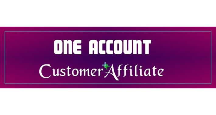 Customer and Affiliate Accounts Combined