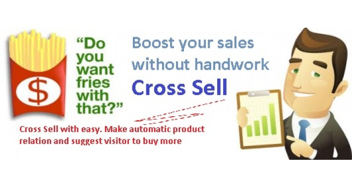 Cross Sell - Boost your sales with easy