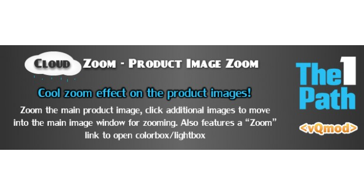Cloud Zoom - Product Image Zoom For OC v2.* & v1.5.*