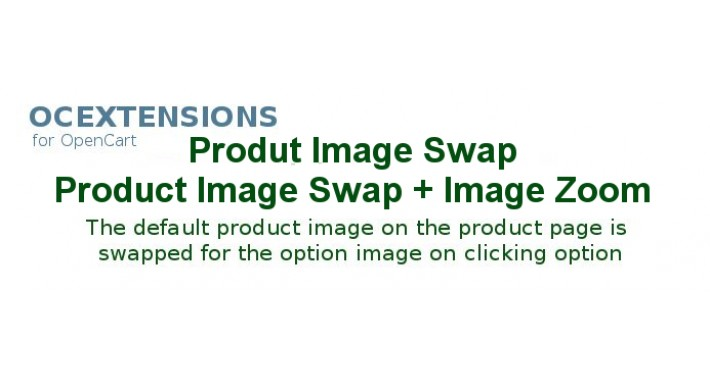 Product/Option Image Switch + Zoom