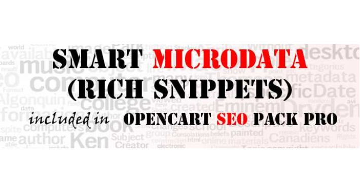 [NEW] SEO Rich Snippets (from Opencart SEO PACK PRO)