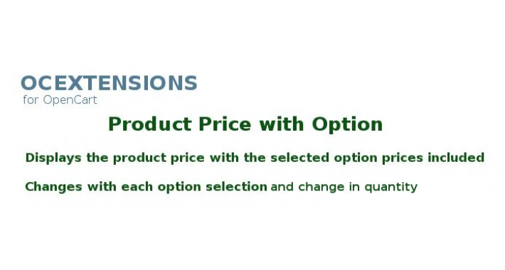 Product Price with Options