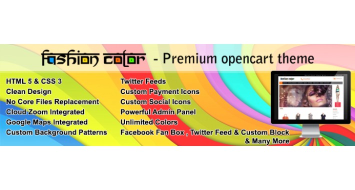 Fashion Color - Premium Opencart Theme