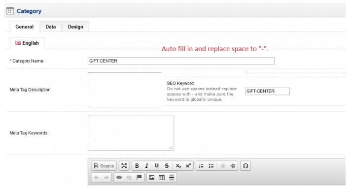 Auto Fill In Into Seo Keyword