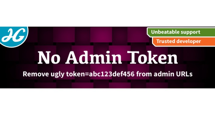 [VQMOD] No Admin Tokens