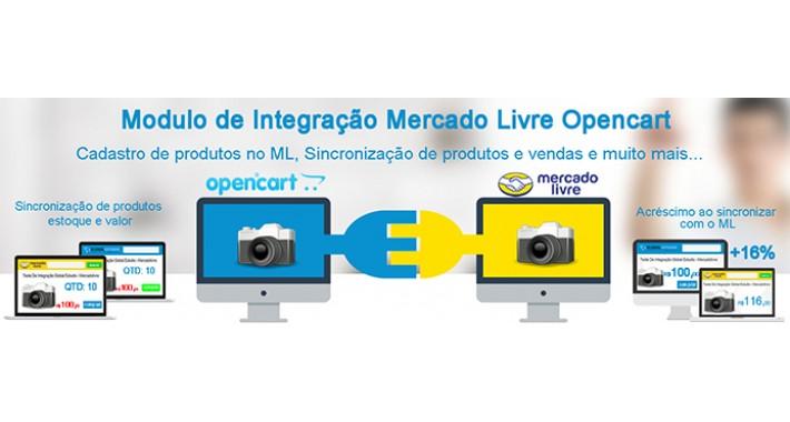 Opencart Module for MercadoLibre/mercadolivre