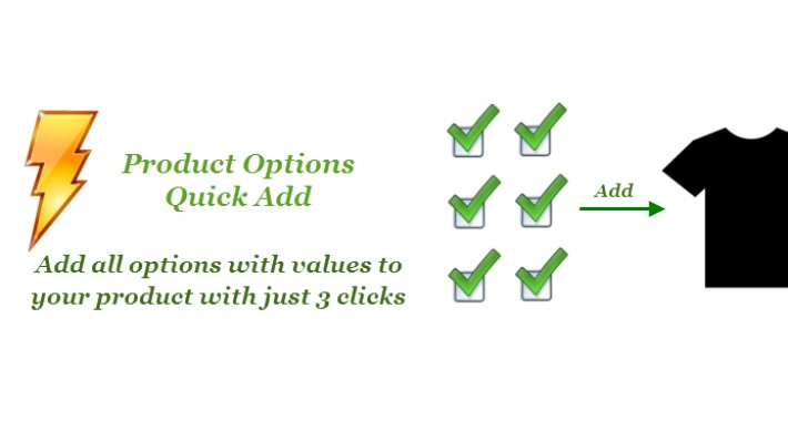 Product Options Quick Add