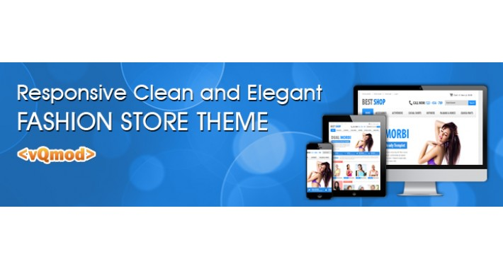 Responsive Clean and Elegant Fashion Store Template