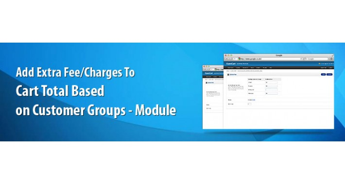 Add Extra Fee/Charges to Cart Total based on customer group