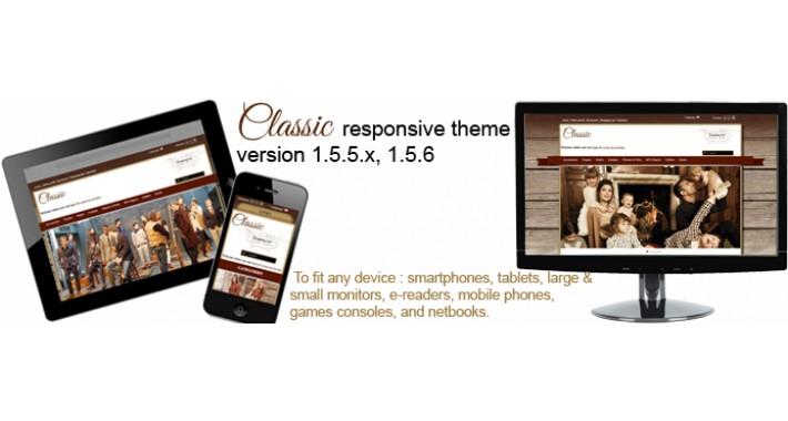 Classic responsive theme