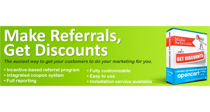 Make Referrals, Get Discounts