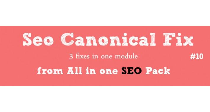 Seo 3 in 1 Canonical Fix [Vqmod]