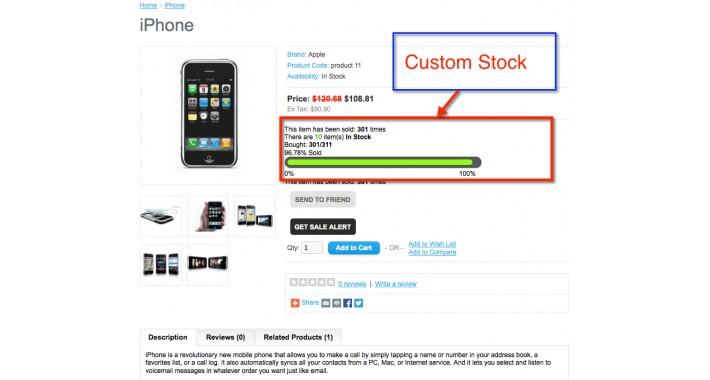 [FREE] Custom Stock Display
