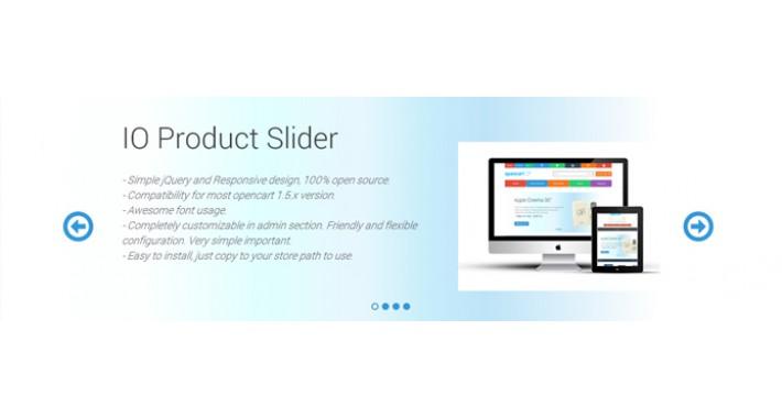 OpenCart - IO Product Slider