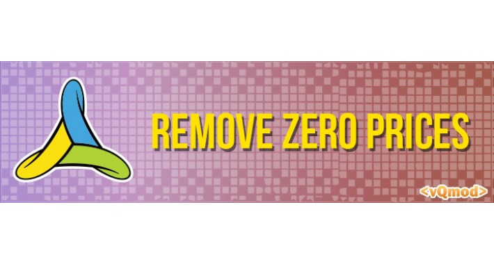 Remove Zero Prices (vQmod)