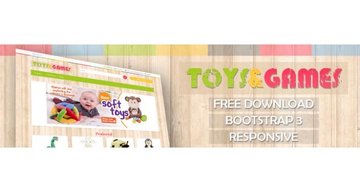 Toys & Games - FREE Theme