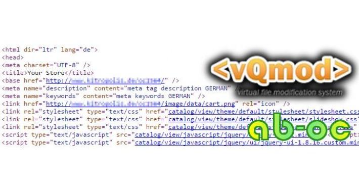Meta description and keywords for store - multilanguage - vqmod