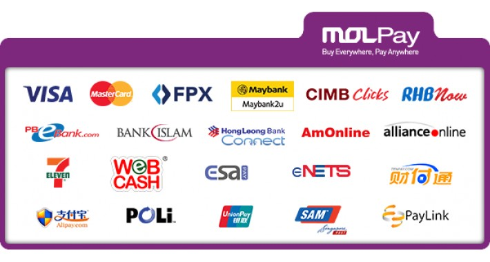 MOLPay Malaysia Online Payment Gateway