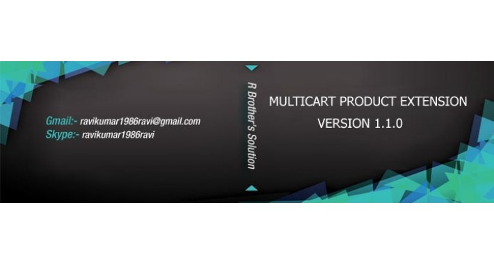 Multicart product extension