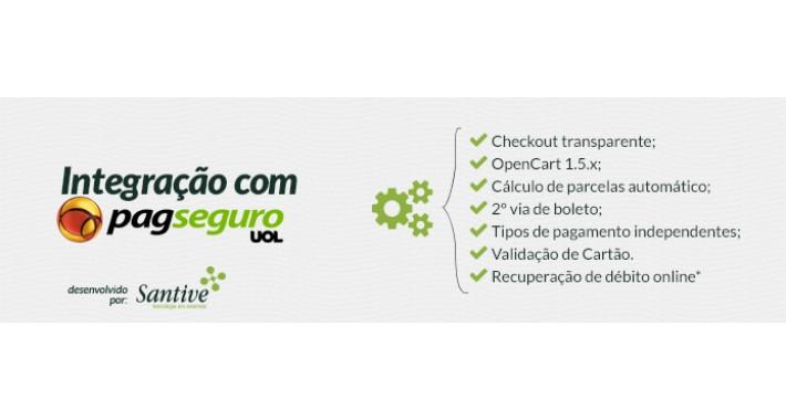 PagSeguro Checkout Transparente - Grátis
