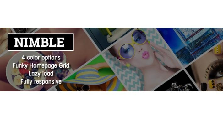 Nimble Homepage Grid Theme
