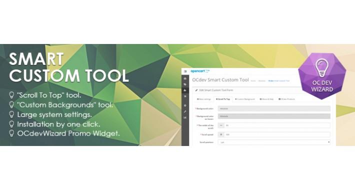 Smart Custom PageBackground & ScrollToTop